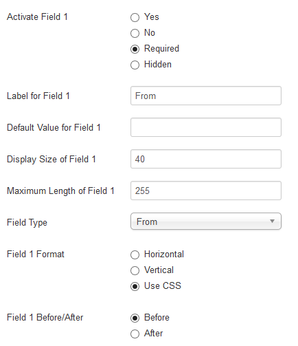 Basic Configuration Options Simple Email Form 2 3 0 Documentation